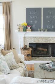 Seasons Of Home Easy Spring Decorating Ideas Rustic Modern