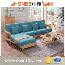 100 Sofa Living Room Modern Furniture Fabric L Shaped Wooden Set Designs