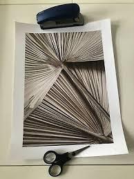 neu desenio ananas bild poster leinwand 20x30 cm weiß gold