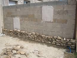 mur de separation exterieur mur de séparation en pierres apparentes transformation