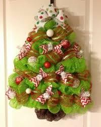Deco Mesh Christmas Tree Decoration BayouBurlapandBling