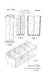 Akro Mils 26 Drawer Storage Cabinet by Patent Us3200983 Plastic Drawer Construction Google Patents