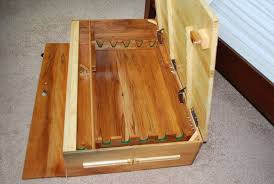 under bed gun storage by greg s lumberjocks com woodworking