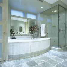 glass tile bathroom pictures white gl floor what causes to