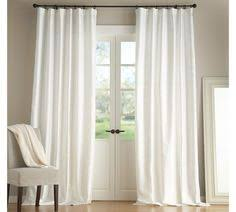 Ikea Lenda Curtains White by Shop Lindstrom White Cotton Curtains Woven In A Slightly Open