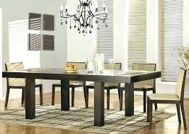 Modern Dining Room Furniture Contemporary Extending Dining Table By