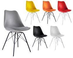 chaise pied metal importateur et grossiste chaise scandinaves
