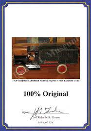 100 Antique Truck Values Keystone American Railway Express