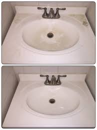 Bathroom Sink Not Draining Fast Enough by The Pleasure Of Cleaning A Dirty Sink Oddlysatisfying