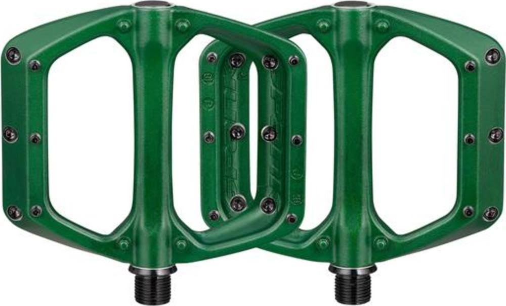 Spank Spoon DC Pedals - Green | Flat Pedals