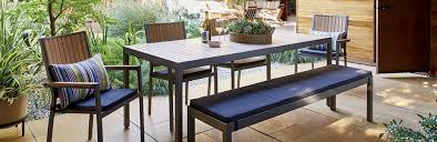 Crate And Barrel Dining Room Furniture by Casual Outdoor Dining Furniture Alfresco Crate And Barrel