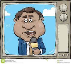 Tv News Reporter Stock Illustrations 1171 Vectors Clipart
