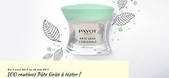 test payot 100 duos pâte grise anti imperfections gratuits