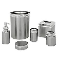 Mercury Glass Bathroom Accessories by Bath Ensembles Standard U0026 Luxury Sets Bed Bath U0026 Beyond