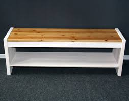 sitzbank 140cm kiefer massiv weiß holzbank vollholz küchenbank 2farbig