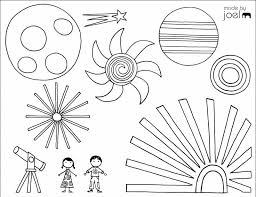 Free Printable Summer Coloring Pages Fireworks By Made Joel