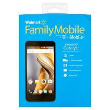 Walmart Family Mobile CoolPad Catalyst 8GB Prepaid Smartphone