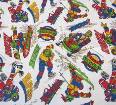 Ninja Turtle Themed Bathroom by Teenage Mutant Ninja Turtles Fabric 90 U0027s Cartoon Tmnt Fabric