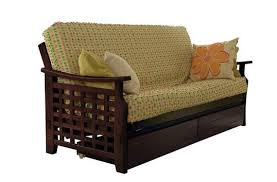 Serta Dream Convertible Sofa By Lifestyle Solutions by Manila Futon Frame By Lifestyle Solutions