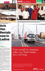 Polokwane Observer 16 October 2014 By Polokwane Observer - Issuu Budget Car Truck Rental Avis Rent A Jamaica Home Facebook Nj And Wendouree Gofields Victoria Trucks Rentals In Enterprise Moving Cargo Van Pickup Brighten Up The Day With Avisbudget Vintage Avis Rent Car Store Dealership Advertising Sign Auto Truck Rental A Group The