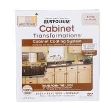 Rustoleum Cabinet Refinishing Kit Colors by Rust Oleum Transformations Light Color Cabinet Kit 9 Piece