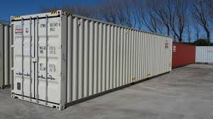 100 Shipping Containers 40 HIGH CUBE SHIPPING CONTAINER WITH FORKLIFT POCKETS CTBUHC