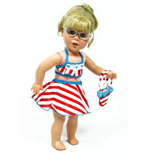 Tomboy Doll Clothes For 18 Inch Dolls 4 Piece Doll Etsy