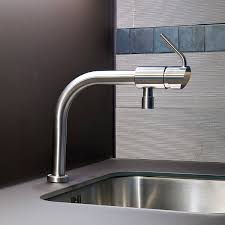 Mgs Faucets Vela D stainless steel mixer tap kitchen 1 hole boma mgs progetti