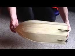 balsa wood rc boat 1 close up youtube