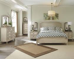 Marlo Furniture Bedroom Sets by Demarlos Queen Upholstered Panel Headboard With Nailhead Trim By