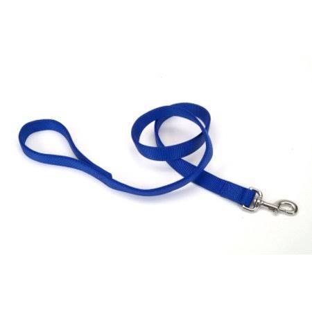 Coastal Pet Products Nylon Double Dog Leash - Blue