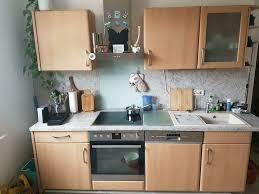 einbauküche küche komplett kühlschrank geschirrspüler herd