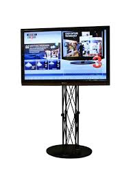 TV Monitor Stands Tradeshow Display