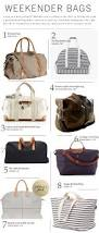 8 great weekend bags for women luggage pinterest weekend