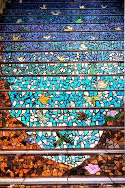 i heart san francisco 16th avenue tiled steps in hdr