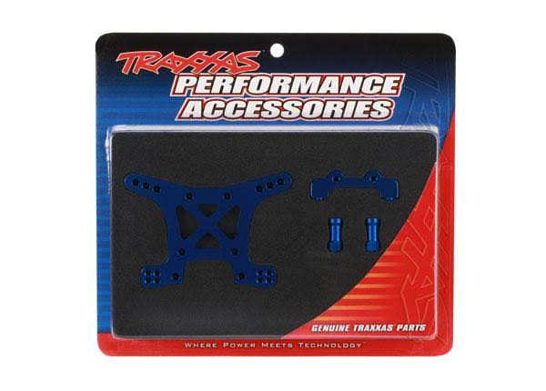 Traxxas Aluminium Front Shock Tower - Blue