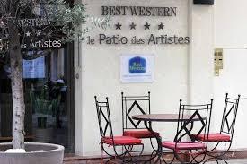 le patio des artistes cannes best western le patio des artistes cannes