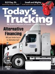 Today's Trucking February 2018 By Annex-Newcom LP - Issuu Americas Trucking Industry Faces A Shortage Meet The Immigrants Trucking Industry Wants Exemption Texting And Driving Ban The Uerstanding Electronic Logging Devices Their Impact On Truckstop Canada Is Information Center Portal For High Demand Those In Madison Wisconsin Latest News Cit Trucks Llc Keeptruckin Raises 50 Million To Back Truck Technology Expansion Wsj Insgative Report 2016 Forastexpectations Bus Accidents Will Cabovers Return Youtube