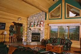 Log Cabin Kitchen Ideas by Home Design Outside Room Ideas Log Cabin Interior With Regard To