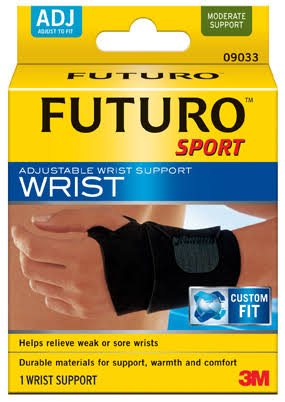 Futuro Sport Adjustable Wrist Support - 1 Wrist Support, Medium