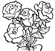 Rose Heart Color Page Plus Pages