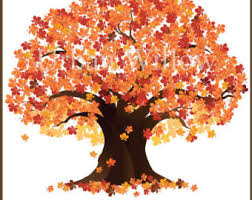 Falling clipart maple tree 3