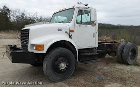 100 Truck Chassis 2000 International 4700 Truck Chassis Item DA2635 SOLD