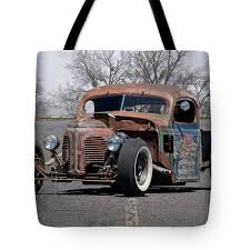 1940 Reo Rat Rod Pickup Tote Bag For Sale By Dave Koontz