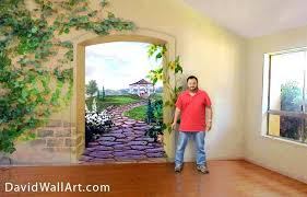 3d Wall Painting For Your Bedroom Nature Mural Art Living Room