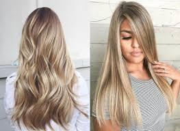 Long Hair Blonde Balayage Colors 2017 Summer