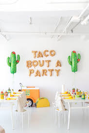 Taco Bout A Party Sign