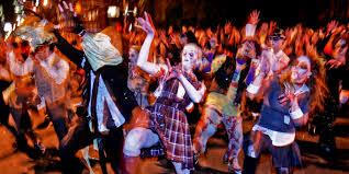 Santa Monica Halloween Parade Street Closures by Elsewhere Plans Festival Calendar October 2015 Elsewhere Man
