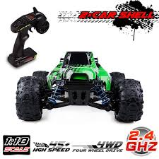 100 Rc 4wd Truck Amazoncom Distianert RC 118 Scale Flexible 4WD RC Car For