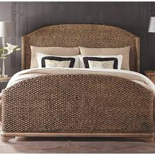 Seagrass Woven Bed In Toasted Pecan By Riverside With Sea Grass ... Bedroom Brings Exceptional Warmth To Your With Seagrass Fniture Twin Bed Using Headboard Beds Best Home Design Ideas Stesyllabus Lovable Natural Wicker Rattan Pottery Barn Astonishing For Mount A Sleigh Suntzu King William Sonoma Rustic Amazing Master Decor Classy Large Queen Size With Ebth 25 Barn Duvet Ideas On Pinterest